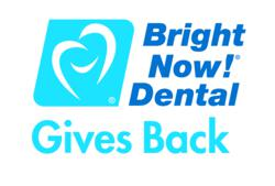 gI 79741 Bright Now Dental Gives Back Logo Bright Now! Dental Provides No Cost Dental Services To Children From Denver Childrens Home